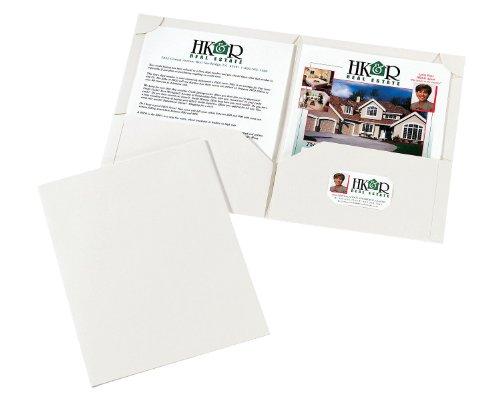 (Avery Corner Lock Two-Pocket Folders, White, Pack of 10 (47761))
