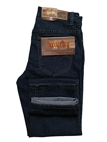 HARPIA Indigo Stretch Jeans Five-Pocket-Jeans Herren-Jeans W 32 bis W 42/ L32