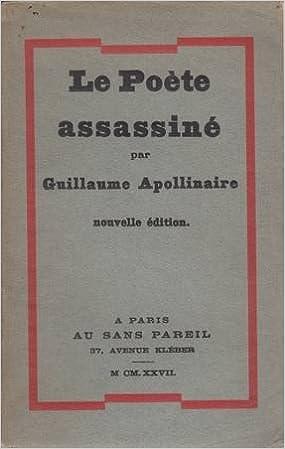 Livres Le Poète assassiné pdf, epub