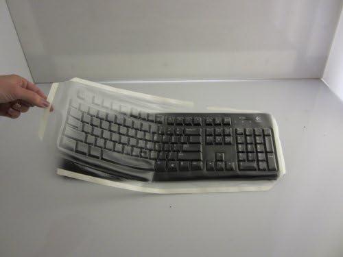 Viziflex/'s Biosafe Anti Microbial Keyboard cover fitting Logitech models K120 1