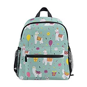 Alpaca Green Toddler Zaino Scuola Multi Carino Bookbags per la Scuola Ragazzi e Ragazze Ragazze Ragazzi Borse Bambini… 8 spesavip