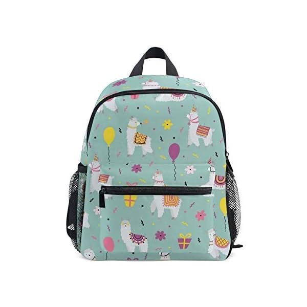 Alpaca Green Toddler Zaino Scuola Multi Carino Bookbags per la Scuola Ragazzi e Ragazze Ragazze Ragazzi Borse Bambini… 1 spesavip
