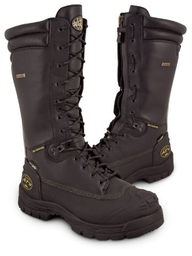 """Oliver 65 Series 14"""" Steel Toe Leather Mining Boots"""