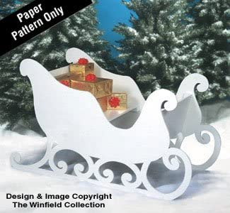 The Winfield Collection Santa's Sleigh Woodworking Plan