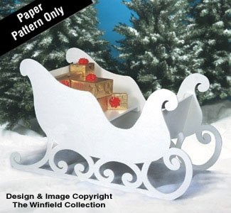 Santas Sleigh Woodworking Plan Buy Online In Uae Home Garden