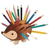 KOH-I-NOOR Small Hedgehog Pencil Holder with Pencil (Set of 24)