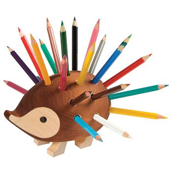 KOH-I-NOOR Small Hedgehog Pencil Holder with Pencil (Set of 24) by Koh-I-Noor
