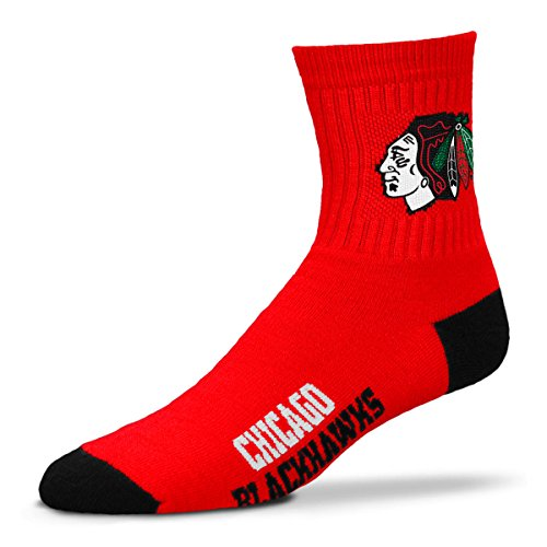 For Bare Feet Chicago Blackhawks Youth 501 Socks