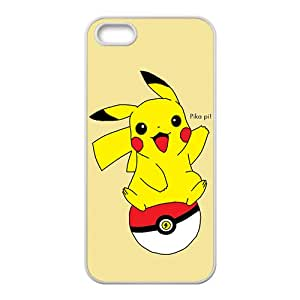 Pikachu Pocket Monster White Phone Case for iPhone 5S