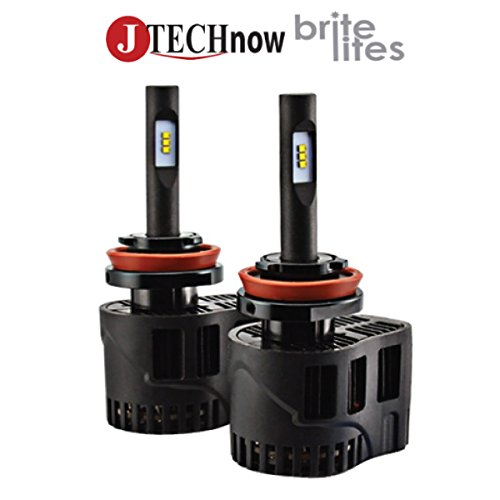 Jtech H11 Type 6400LM 50W High Power LED Headlight All in One Style