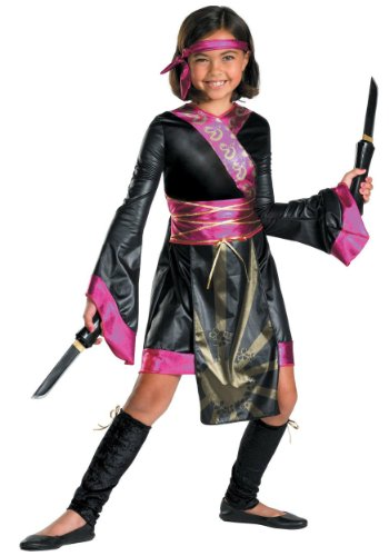 Dragon Ninja Costume - Medium (7-8) (Warrior Girl Costume)