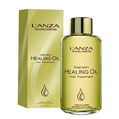 L'ANZA Keratin Healing Oil Hair Treatment, 3.4 Fl Oz