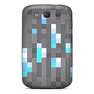 Awesome Case Cover/Galaxy S3 Defender Case Cover(mine Craft Diamonds) by icecream design