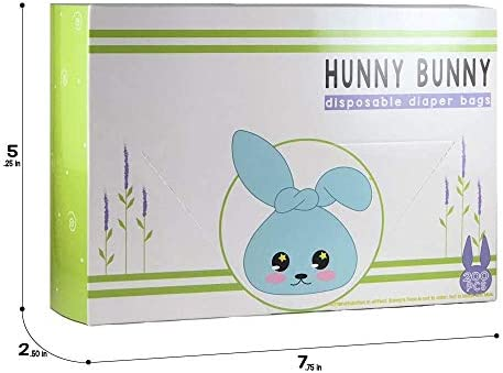 Amazon.com: Hunny Bunny fácil desechables bolsas de pañales ...