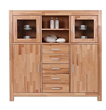 highboard massiv bestseller shop f r m bel und einrichtungen. Black Bedroom Furniture Sets. Home Design Ideas