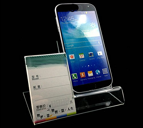 Amazon 40pack Of Acrylic Mobile Cell Phone Display Stand Holder Fascinating Cell Phone Display Stands