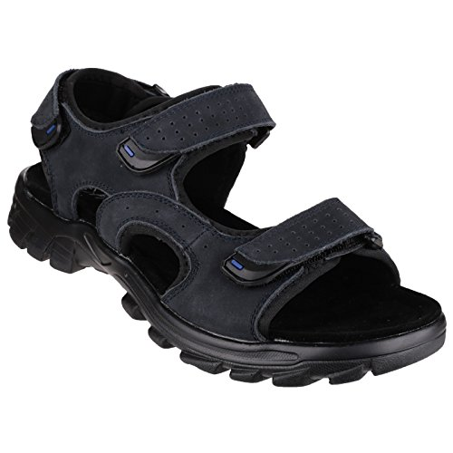 Sunhill Cotswold Mens Sandalo Comodo Velcro Brown Estate 8wAqp