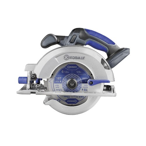 Kobalt 18 VOLT Lithium -Ion 50-Degree 6-1/2-in Cordless Circular Saw (Bare Tool) Model# K18LC-16A