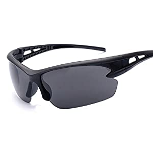 Men's Polarized Sunglasses for Men Sports Driving Cycling Running Fishing Golf Unbreakable Frame Metal Driver Sunglasses,Physical map,Sand box flat mirror