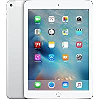 Apple MH2N2LL/A iPad Air (2nd Generation) 64GB Wi-Fi + Cellular Tablet, Silver/White - (Scratch & Dent)