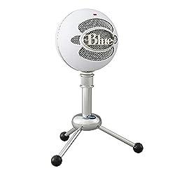Blue Snowball USB Microphone (Textured White)