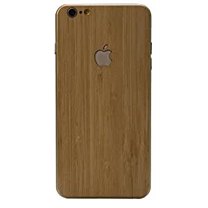 Biaoge Using Natural Solid Wood Chips Produced By for Iphone 6 Back Stickers Iphone 6 Plus Protective Skins Back (i6 Bamboo)