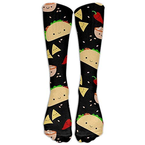 (Taco Tuesday Party Unisex Compression Socks for Running, Nurses, Shin Splints, Travel, Flight, Pregnancy & Maternity.)