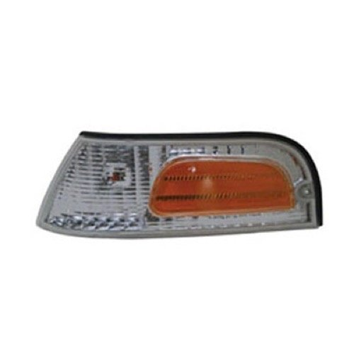 Ford Crown Victoria Base Model - Go-Parts » 1998-2011 Ford Crown Victoria Parking Light Assembly Replacement/Lens Cover - Left (Driver) Side - (Base Model + LWB + LX + LX Sport + Police Interceptor) 6W7Z 15A201 BA FO2520147