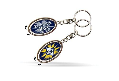 MLB Tampa Bay Rays Spinner Keychain