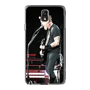 CharlesPoirier Samsung Galaxy Note3 Bumper Hard Cell-phone Case Support Personal Customs HD Metallica Band Series [wNx12615EnVX]