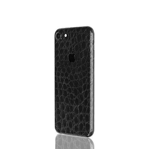 AppSkins Rückseite iPhone 7 Full Cover - Alligator black