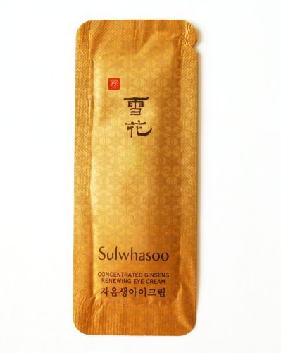 30 X Sulwhasoo Sample Concentrated Ginseng Renewing Eye Cream 30 sample sachets