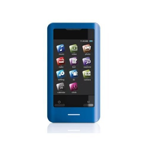Coby MP828-8GBLU 8 GB 2.8-Inch Video MP3 Player with FM Radi