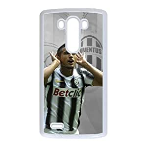 LG G3 Custom Cell Phone Case FC Juventus Players Arturo Vidal Case Cover YWFF36196