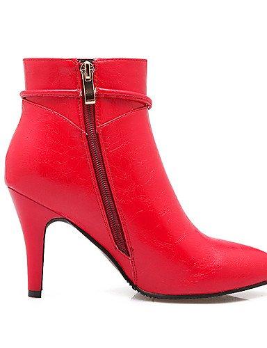 Bottes Cn39 Chaussures De décontracté Beige us8 Automne Xzz Mode Stiletto Eu39 amp; Pointu Uk6 Fête Talon chaussons femme Bottes Oklok robe hiver bout Soir PEwYqg