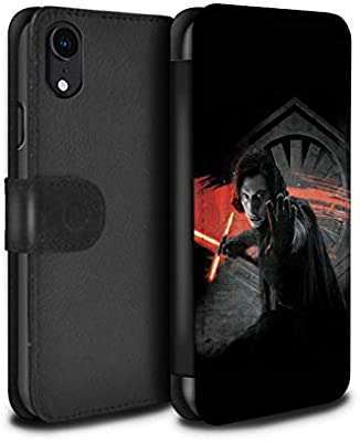 Rebel Cases Phone Case Wallet For Apple Iphone Xr Star Wars First Order Kylo Ren Design Flip Faux Pu Leather Cover Amazon Co Uk Computers Accessories