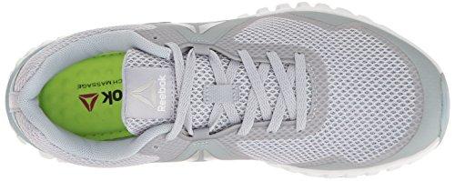 0 Silver Maschenweite Twistform Reebok Grey Grey 3 Blaze Laufschuh Wht q1HA6