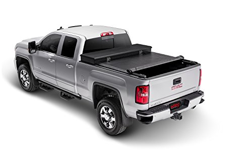 Extang Box Tool Vinyl (Extang 60645 Express Toolbox Roll-up Tonneau Cover - fits Silverado/Sierra (5 ft 8 in) 07-13 works with/without track system)