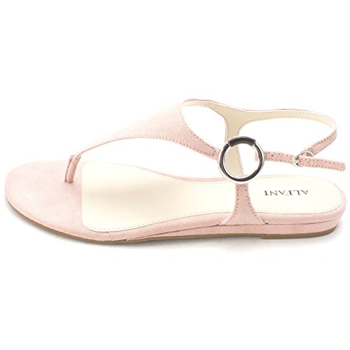 Alfani Womens Honnee Open Toe Casual Ankle Strap Sandals, Pink Blush, Size 6.5 (Fashion Wholesale Women Sandals)