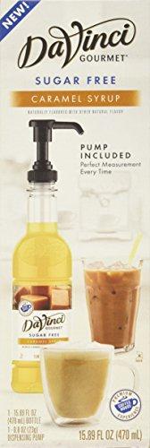 DaVinci Gourmet Sugar-Free Syrup, Caramel, 15.89 Ounce Bottle