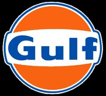 Oil Gulf Vintage (Gulf embossed 24