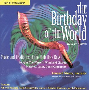 Birthday of the World Yom Kippur by Western Wind