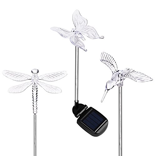 Butterfly Solar Powered Garden Lights - 8