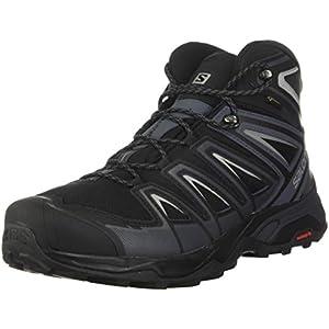 Boots: Salomon X Ultra 3 Wide Mid GTX