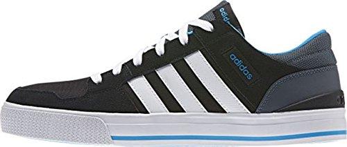 Adidas Hoops St - tomaia nera ftwwht solblu //