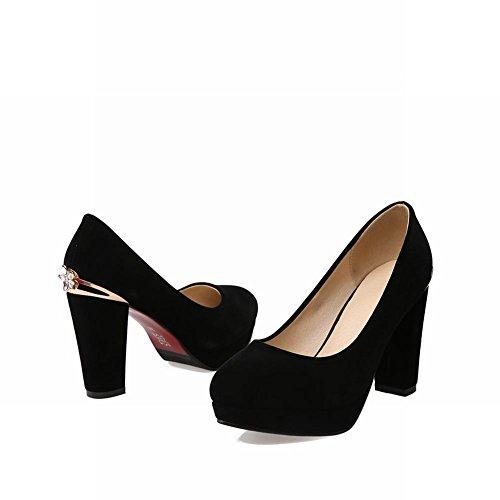 0f078ab5de08e ... Carolbar Plate-forme De Femmes Strass Chukka Mode Talons Hauts Pompes  Chaussures Noir ...