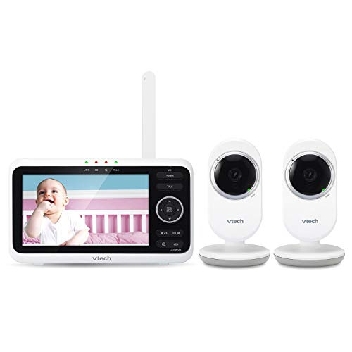 (VTech Video Baby Monitor with 2 Cameras, SM8252-2)