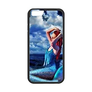 Anime Mermaid iPhone 6 4.7 Inch Cell Phone Case Black GF7169787