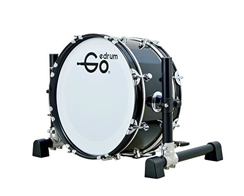 Goedrum GBD18 18'' Electric Kick Drum or Electronic Bass Drum Color Black by Goedrum