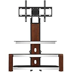 Whalen Furniture Flat Panel TV Stand and Entertainment Console, 41-Inch